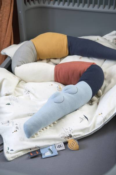 Sleepy Croc Sengeslange Seven Seas - Sebra