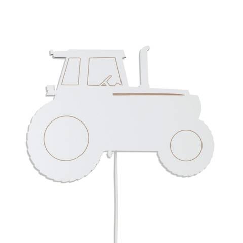 Bilde av Vegglampe Traktor Hvit - Maseliving