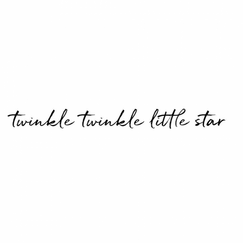 Bilde av Wallsticker - Twinkle Twinkle - Stickstay