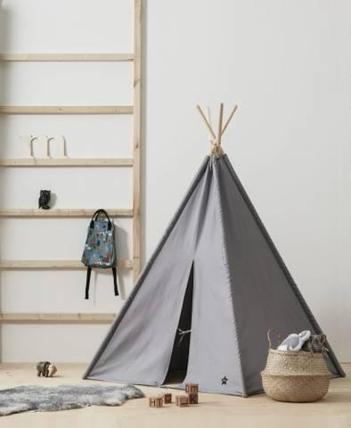 Bilde av Tipi Telt Grey - Kids Concept