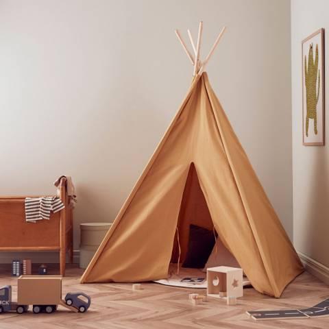 Bilde av Tipi Telt Yellow - Kids Concept