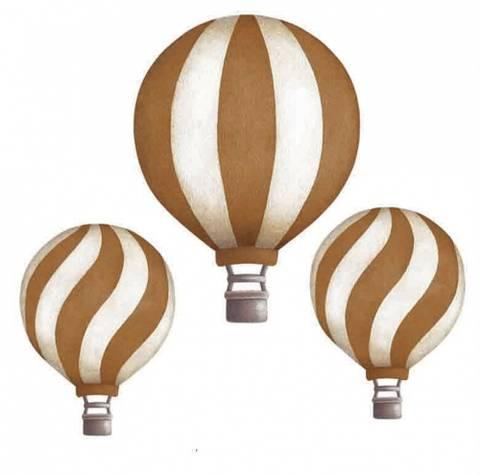 Bilde av Vintage balloon set Mustard - Stickstay