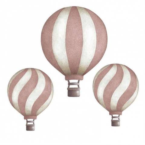 Bilde av Vintage balloon set Dark Pink - Stickstay
