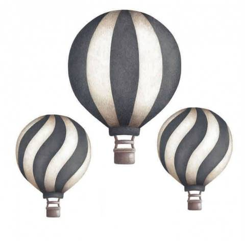 Bilde av Vintage balloon set Dark Blue - Stickstay