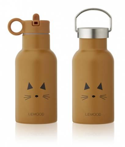Bilde av Anker Drikkeflaske Cat Mustard - Liewood