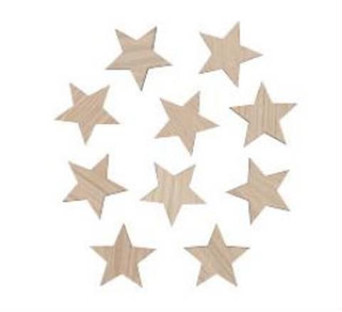 Bilde av Veggdekor stjerner 6 cm - Maseliving