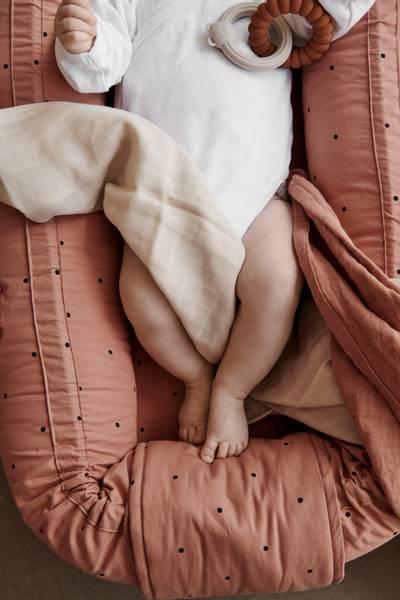 Gro Babynest / babylift Tuscany Dots - Liewood