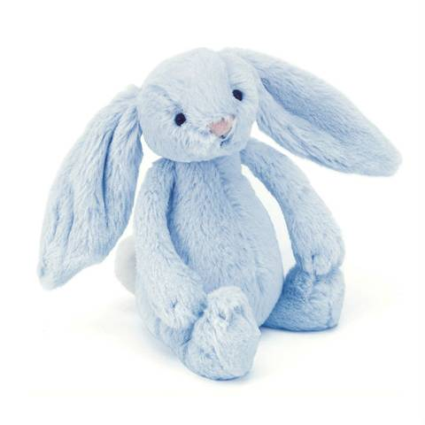 Bilde av Bashful Bunny Blue 31 cm - Jellycat