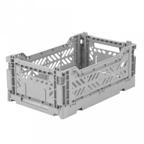 Bilde av Foldbar oppbevaringskasse Mini (Grey)  - Ay-Kasa