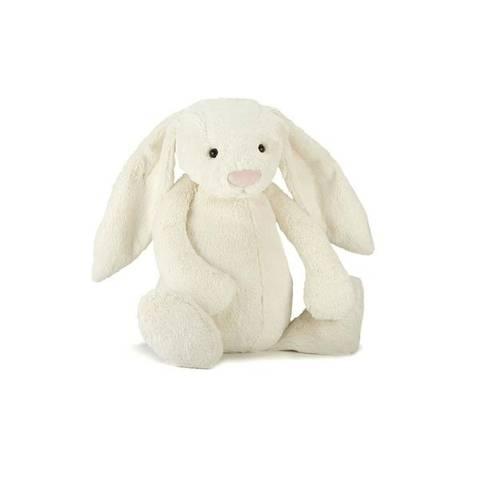 Bilde av Bashful Bunny Hvit 18 cm - Jellycat