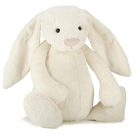Bilde av Bashful Bunny Hvit 31 cm - Jellycat