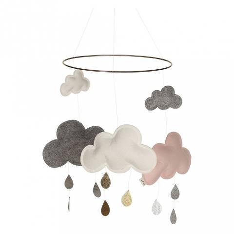 Bilde av Uro Clouds Pink - Konges Sløjd