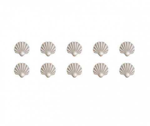 Bilde av Wallsticker - Shells in beige - Stickstay