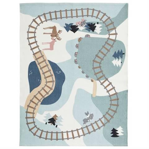 Bilde av Gulvteppe Skog Edvin (130x170) - Kids Concept