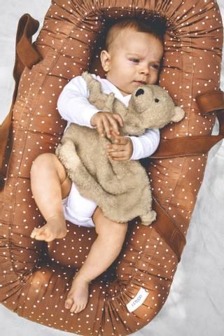 Bilde av Gro Babynest / babylift Confetti Terracotta -