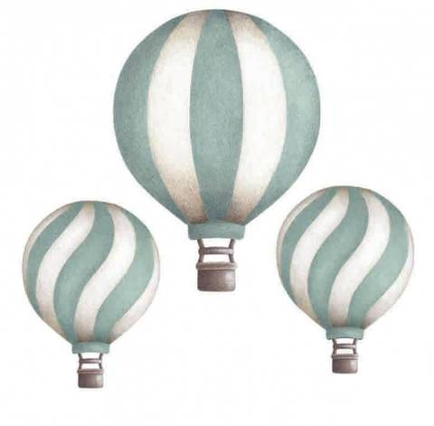 Bilde av Vintage balloon set Dark Mint - Stickstay