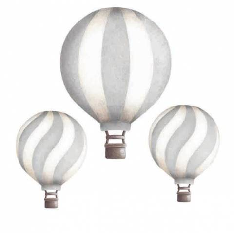 Bilde av Vintage balloon set Light Grey - Stickstay