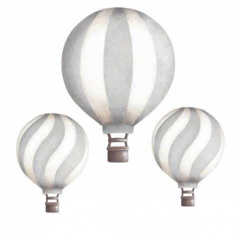 Bilde av Vintage balloon set Light Grey - Stickstay
