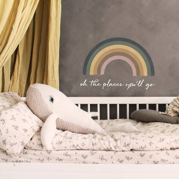 Wallsticker - Pride's big rainbow - Stickstay