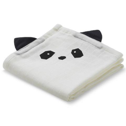 Bilde av Hannah Multiklut Panda Creme 2-pakk - LIEWOOD
