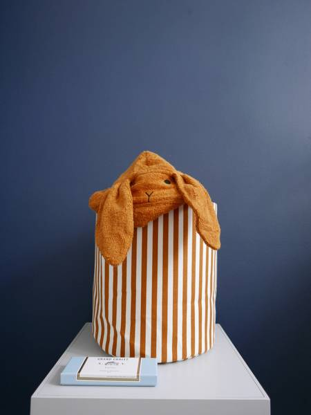 Badehåndkle Rabbit Mustard - LIEWOOD