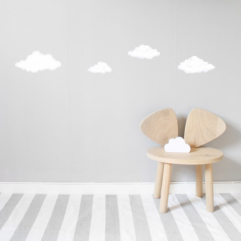 Bilde av Wallsticker - Clouds White - Stickstay