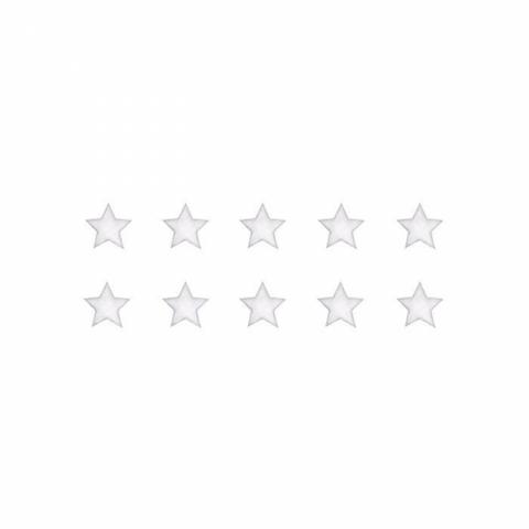 Bilde av Wallsticker - Stars White - Stickstay