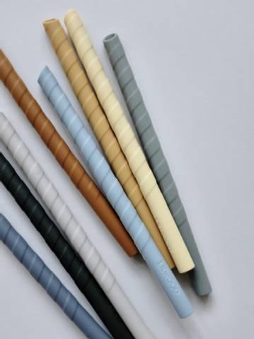 Bilde av Sugerør 8 pack Blue Multi Mix - Liewood