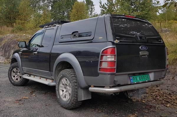 Bilde av VD Hardtop til Ford Ranger