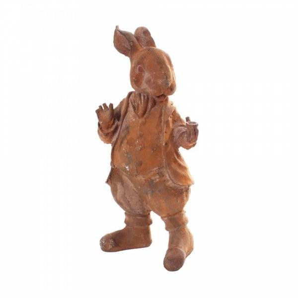 Bilde av Mr Rabbitt, støpejernsfigurer