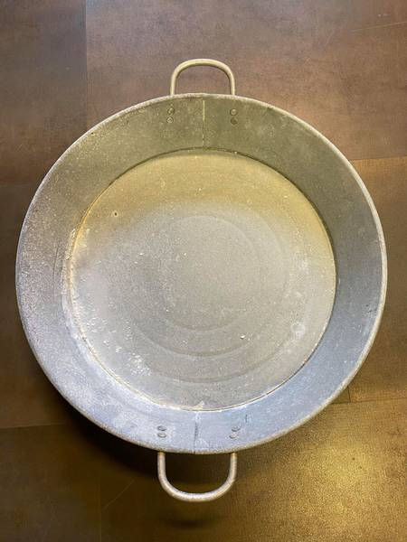 Bilde av Metall fat i zink