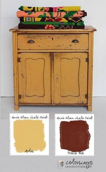 Prøveboks 120ml, Arles Chalk Paint(tm) dekorativ Paint by Annie