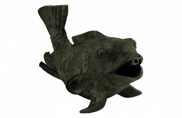 Bilde av Fontene fisk i bronse 16cm