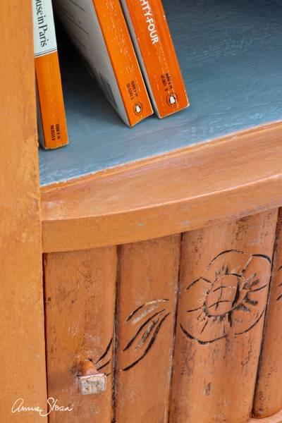 Prøveboks 120ml, Barcelona Orange Chalk Paint(tm) dekorativ Pain