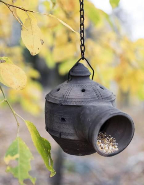 Bilde av Fuglematere i terracotta,