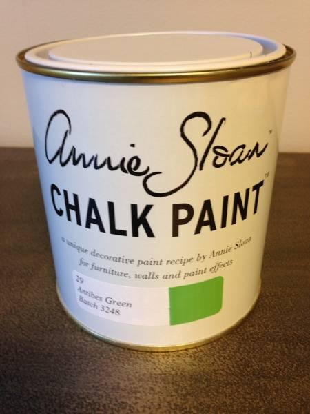Prøveboks 120ml, Antibes Grønn Chalk Paint(tm) dekorativ Paint b