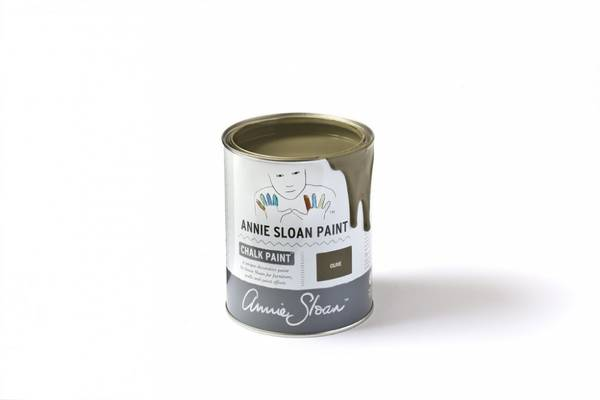 Prøveboks 120 ml Olive chalk paint