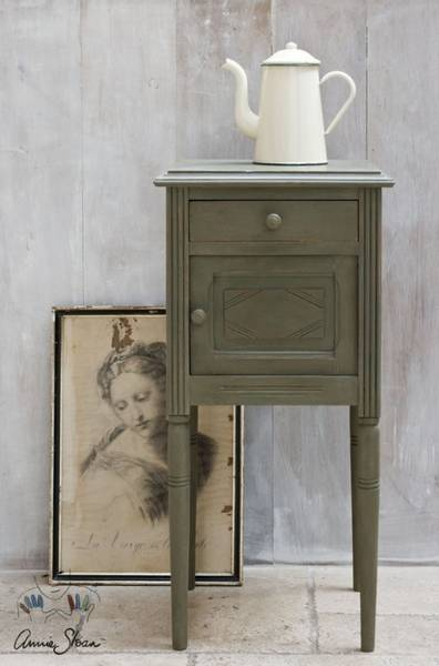 Prøveboks 120 ml Olive chalk paint