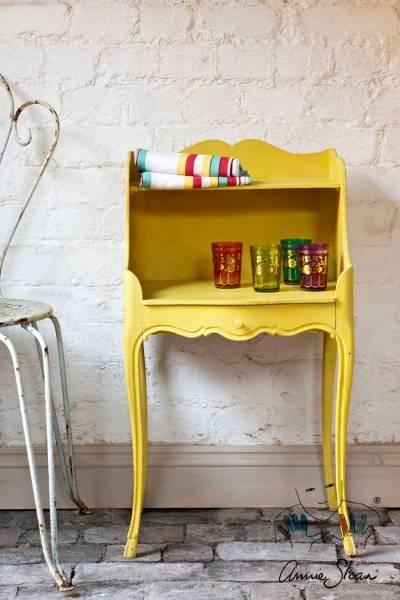 Prøveboks 120ml, English Yellow Chalk Paint(tm) dekorativ Paint