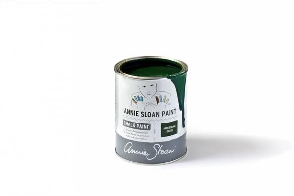 Prøveboks 120 ml Amsterdam Green chalk paint