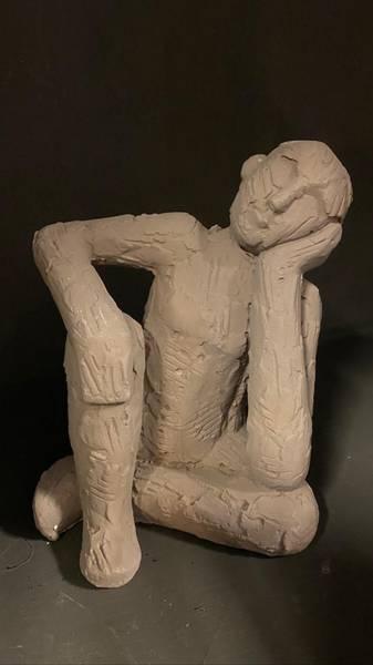 Bilde av Skulpturer i leire, 17 cm