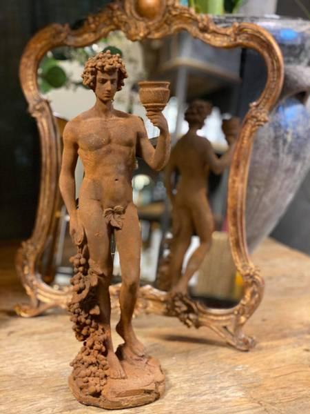 Bilde av Statue m.lysholder 43 cm