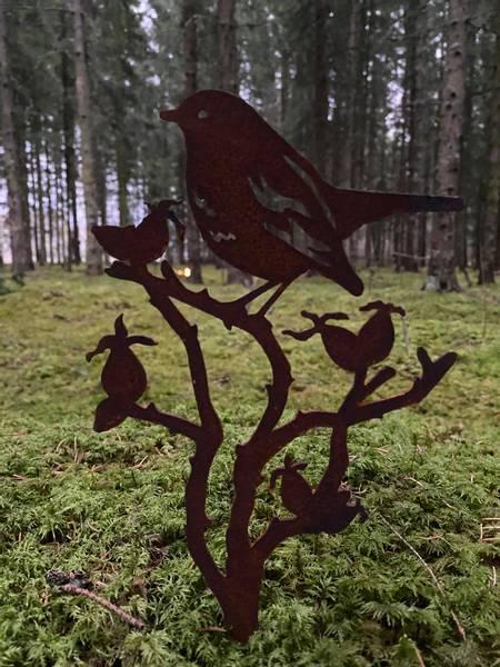 Bilde av Fugler på greiner