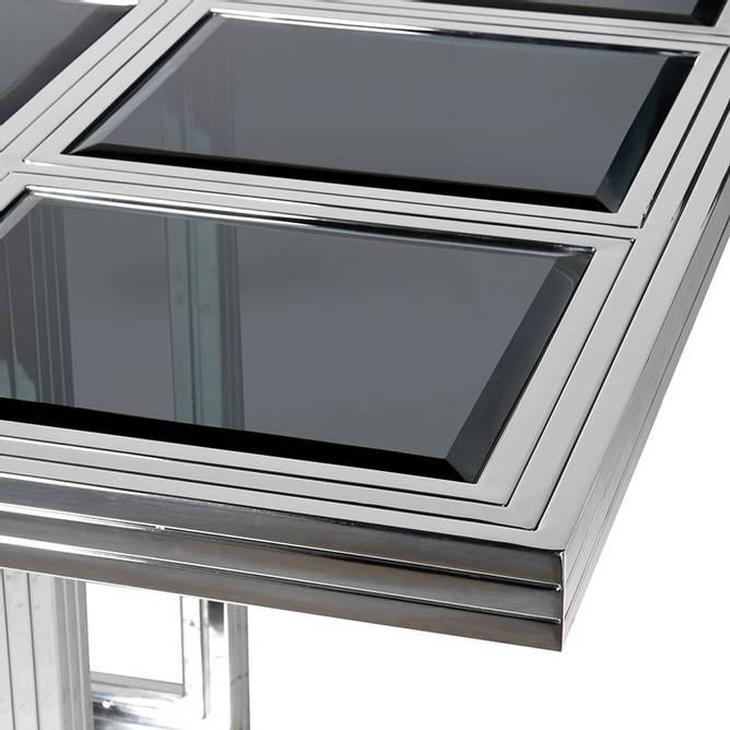 Bilde av STEEL & GLASS TABLE
