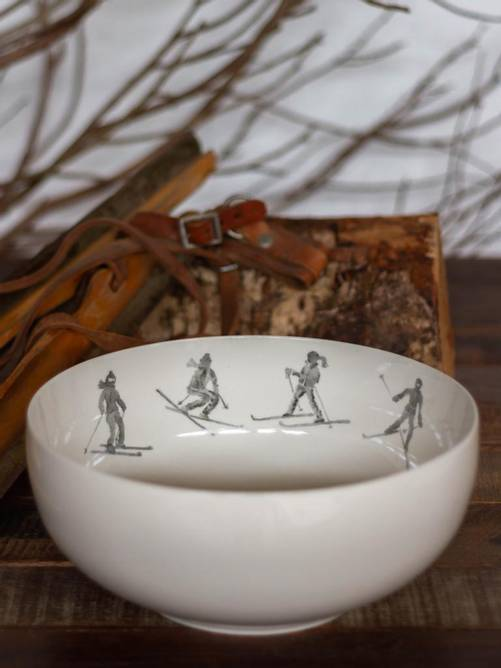 Bilde av SKIERS SALAD SERVING BOWL