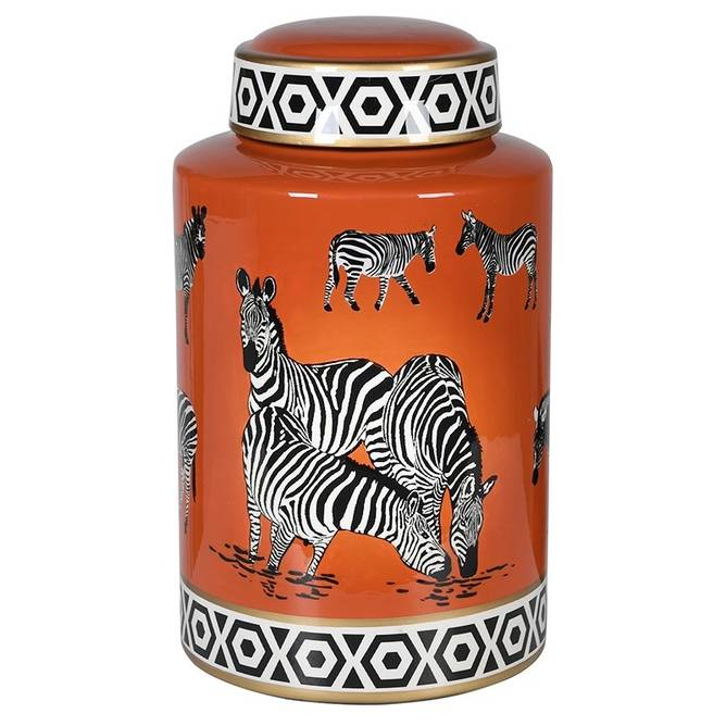 Bilde av JAR ZEBRA ORANGE