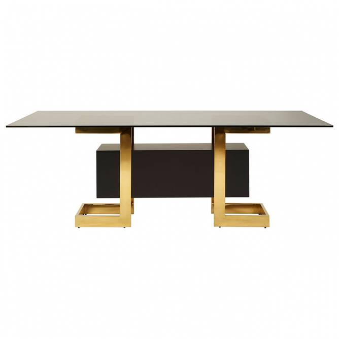 Bilde av DIANA DINING TABLE GLASS