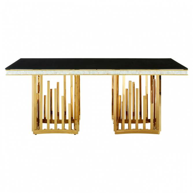 Bilde av ELZA GOLD FINISH DINING