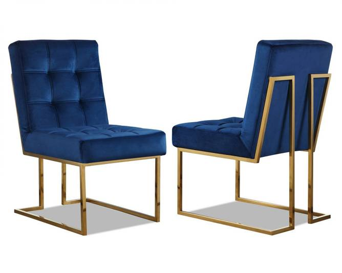 Bilde av DINING CHAIR WARHOL BLUE