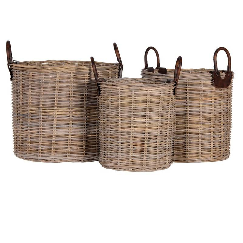 Bilde av LARGE LOG BASKET ROTTING